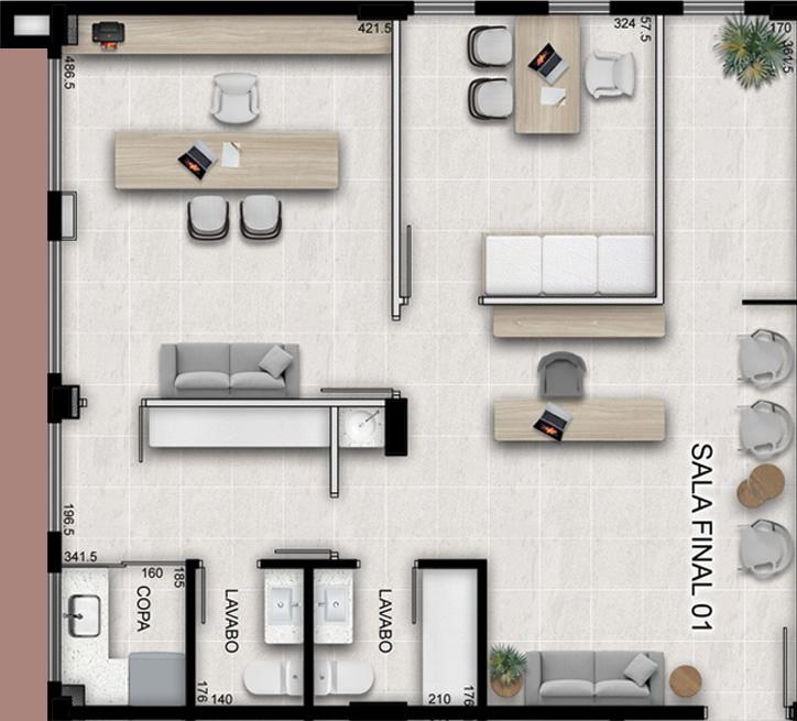 Sala tipo 1